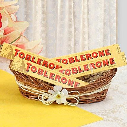 Munch With Toblerone: Gift Baskets