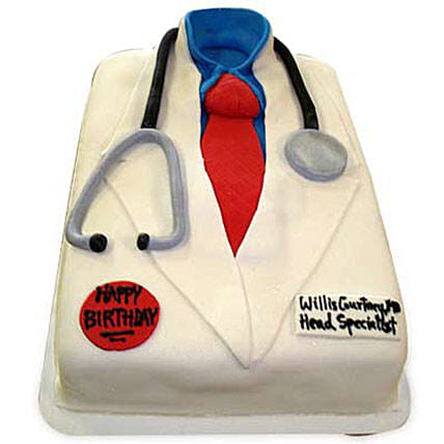 Mushy Doctor Cake: Designer Cakes