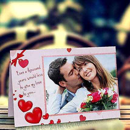 My Love Personalized Card: Greeting Cards