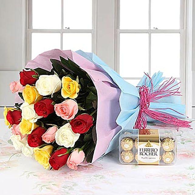 New Beginning: Friendship Day - Flowers & Chocolates