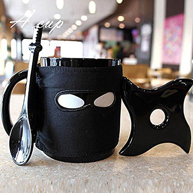 Ninja Black Coffee Mug: Unique Gifts