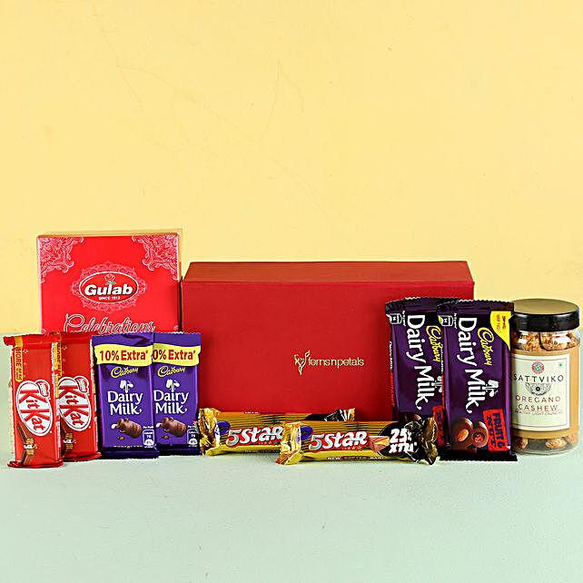 Nutty Chocolaty Festive Hamper: Send Gifts for Dussehra