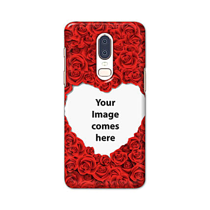 One Plus 6 Customised Hearty Mobile Case: