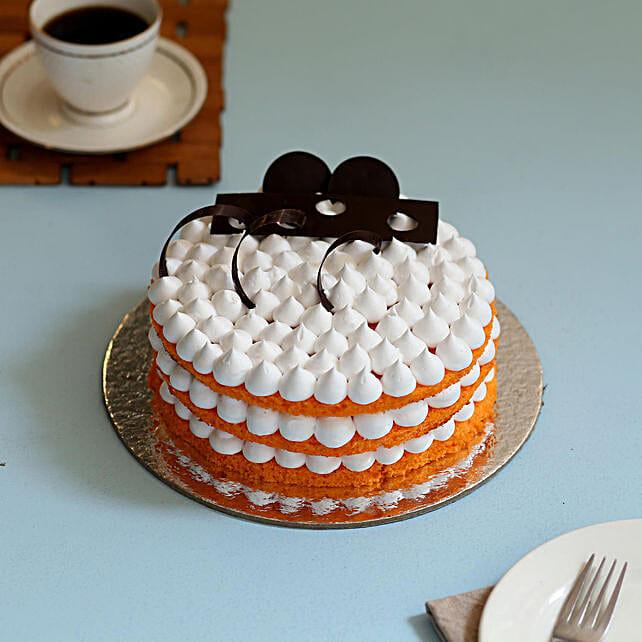 Orange Cream Cake: Birthday Cakes