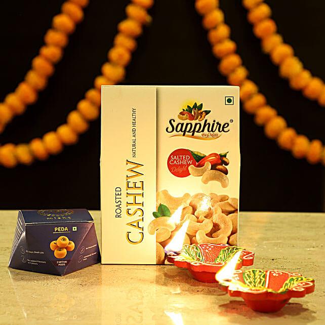 Peda Sweet Diwali Combo: Sweets & Dry Fruits for Diwali