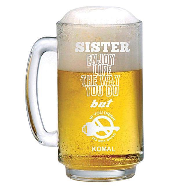 Personalised Beer Mug 1301: