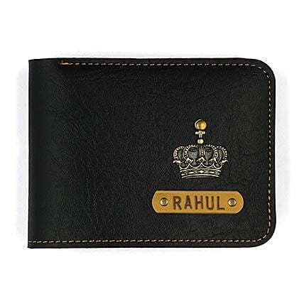 Personalised Black Mens Wallet Gifts For Him