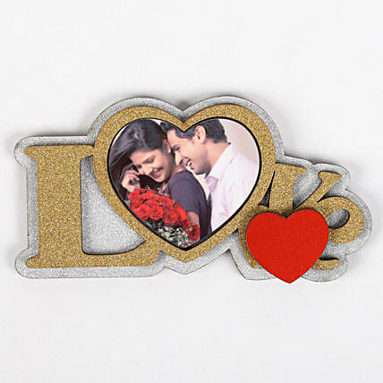 Personalised Love Fridge Magnet: