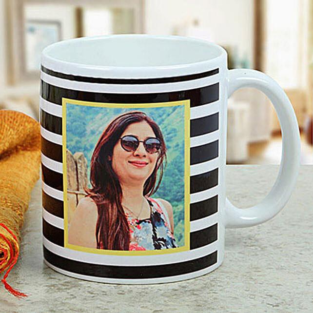 Personalised Printed Mug For Her: Custom Photo Coffee Mugs