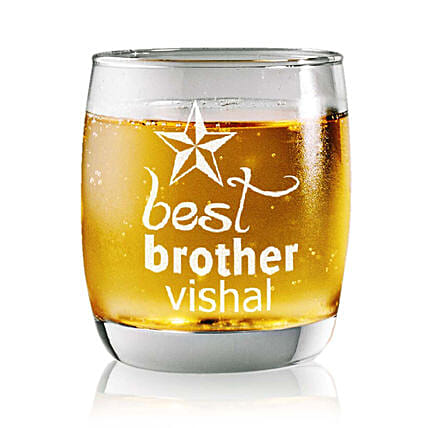 Personalised Set Of 2 Whiskey Glasses 2353: