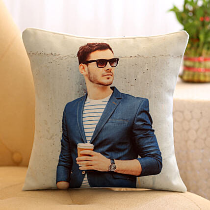 Personalised Special Cushion For Him: Bhai Dooj Personalised Gifts