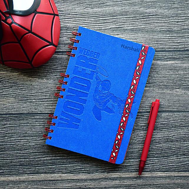 Personalised Webbed Wonder Wiro-Notebook: