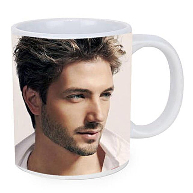 Personalised White Ceramic Mug: Mugs for Fathers Day