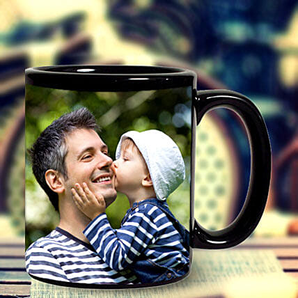 Personalized Black Mug: Personalised Mugs