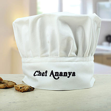 Personalized Chefs Hat: Send Gifts to Chamba