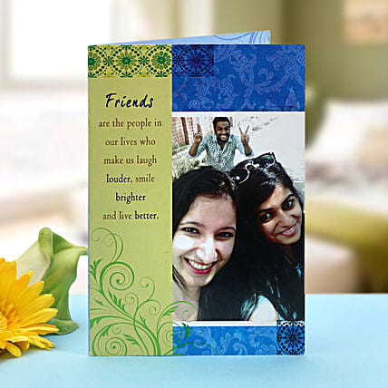 Personalized greeting card: Personalised Friendship Day Gifts