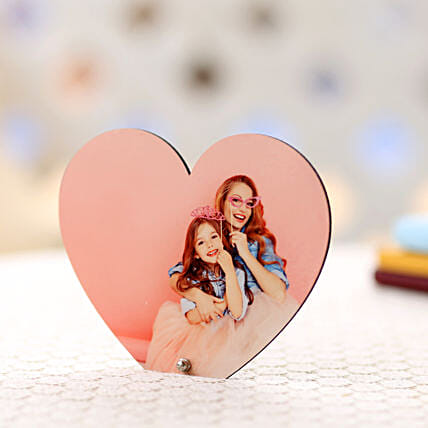 Personalized Heart Frame: Send Photo Frames