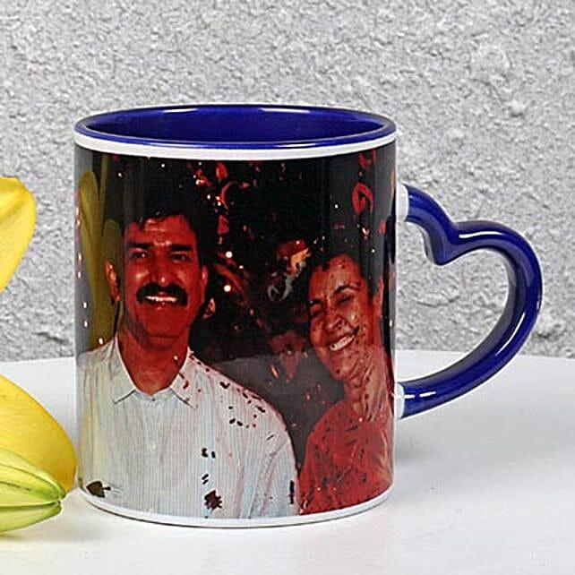 Personalized Ink Blue Ceramic Mug: Buy Coffee Mugs
