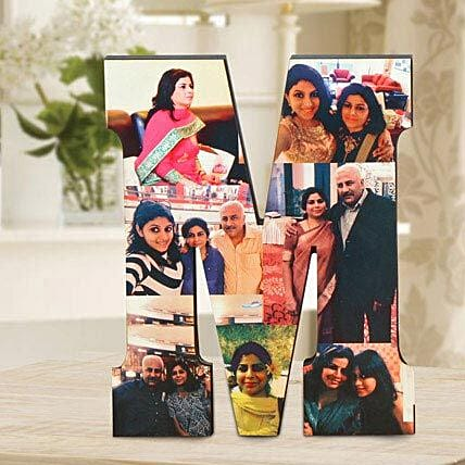 Personalized M Table Top: Send Gifts to Shajapur