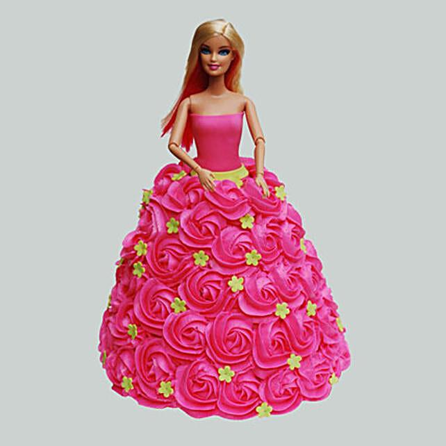 Pink Barbie Cake: Barbie Cakes