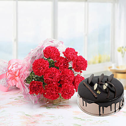 Pink Carnations And Chocolate Cake: Carnations