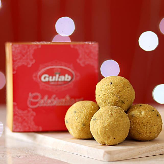 Plain Besan Laddu Box: Pohela Boishakh Gifts