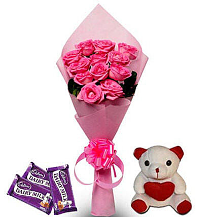 Pretty Pink hamper: