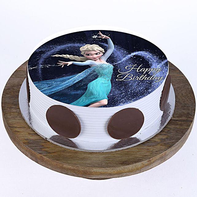 Princess Elsa Photo Cake: Superhero Cakes