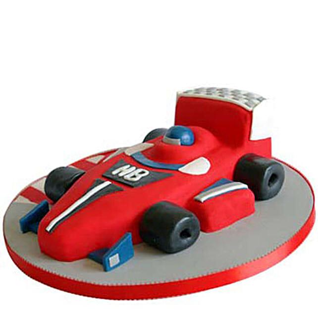 Red Hot Ferrari Car Cake: Car Shaped Cakes