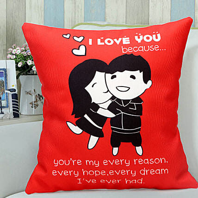 Red Hug: Cushions