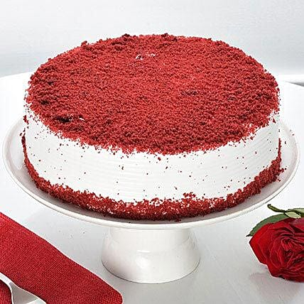 Red Velvet Fresh Cream Cake: Gifts Delivery In Bowenpally