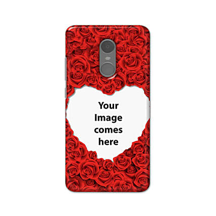 Redmi Note 4 Customised Hearty Mobile Case: Personalised Redmi Mobile Covers