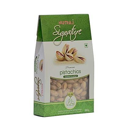 Roasted & Salted California Pistachios- 200 gms: Dry Fruits
