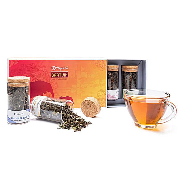 Saatvik Gift Pack- Black Tea Blends: Gourmet Gifts