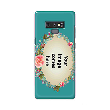 Samsung Galaxy Note 9 Customised Floral Mobile Case: Personalised Back Covers