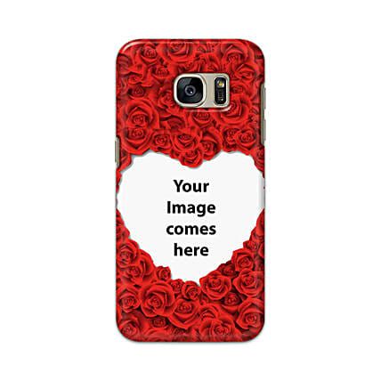 Samsung Galaxy S7 Customised Hearty Mobile Case: Samsung Phone Personalised Back Covers