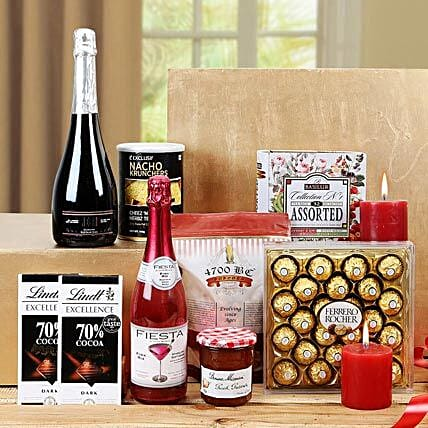 Sensational Treat Gift Basket: Send New Year Gift Hampers