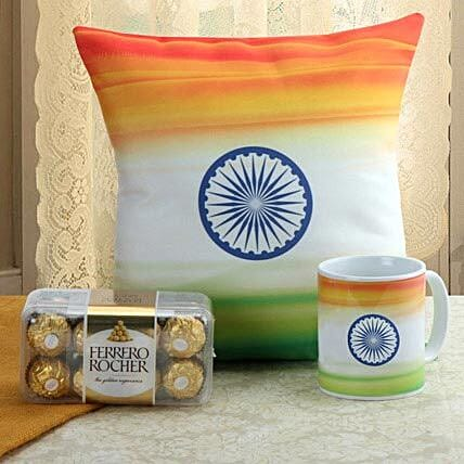 Sense Of Patriotism Combo: Ferrero Rocher Chocolates