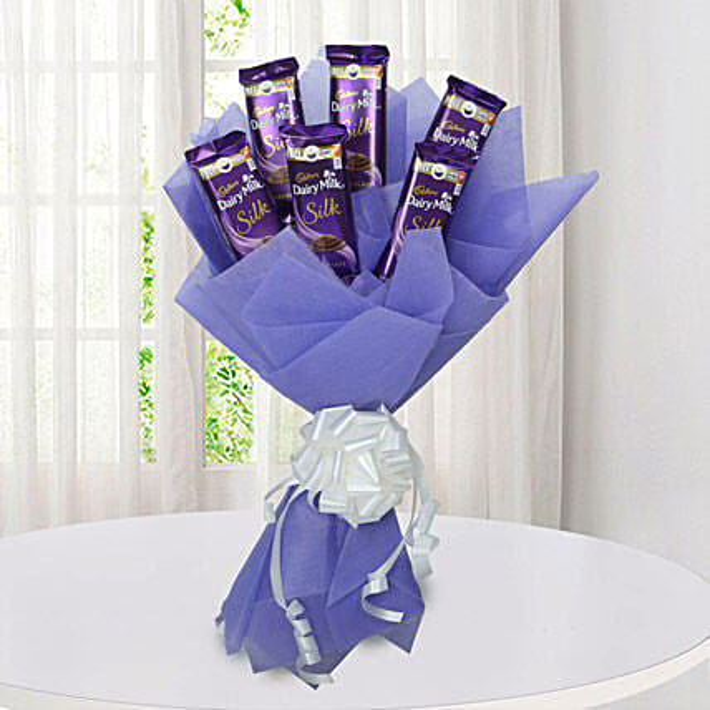 Silk Chocolate Bouquet: