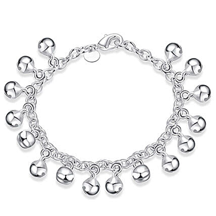 Silver Plated Women Charm Bracelet: Friendship day Bracelets