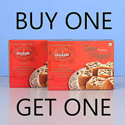 Soan Papdi Sweets- Buy 1 Get 1: Sweets Delivery