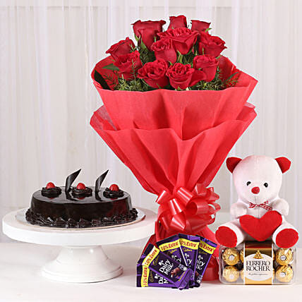 Some One Special: Roses And Teddies