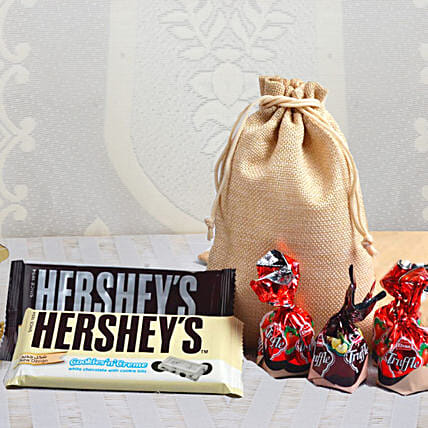 Special Chocolaty Combo: Gifts for New Born