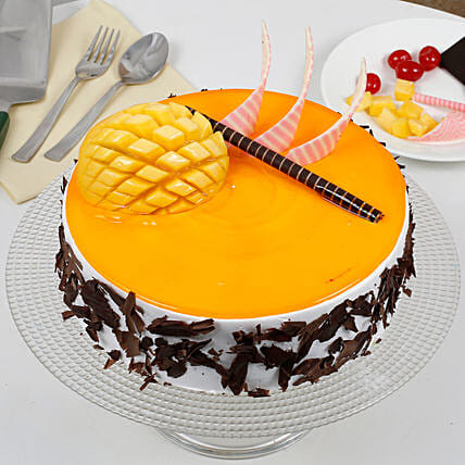 Special Mango Fruit Cream Cake: Birthday Cakes