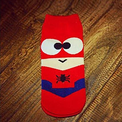 Spiderman Ankle Length Socks: Apparel Gifts