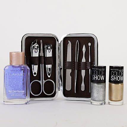 Stylish Nail Care Kit: Gifts for Valentine's Day