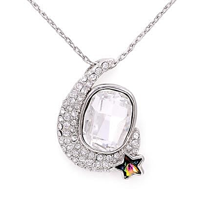 Stylish Silver plated Necklaces: Send Jewellery Gifts