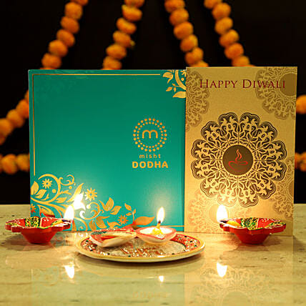 Sweet Diwali Greetings Hamper: Sweets Delivery