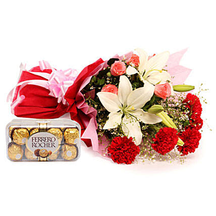 Sweetest Of All: Send Flowers and Chocolates