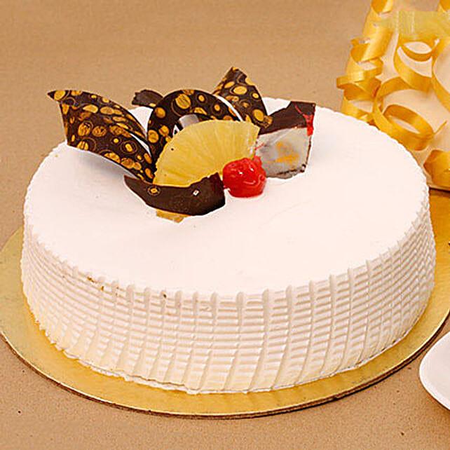 Tangy N Tasty Pineapple Cake: